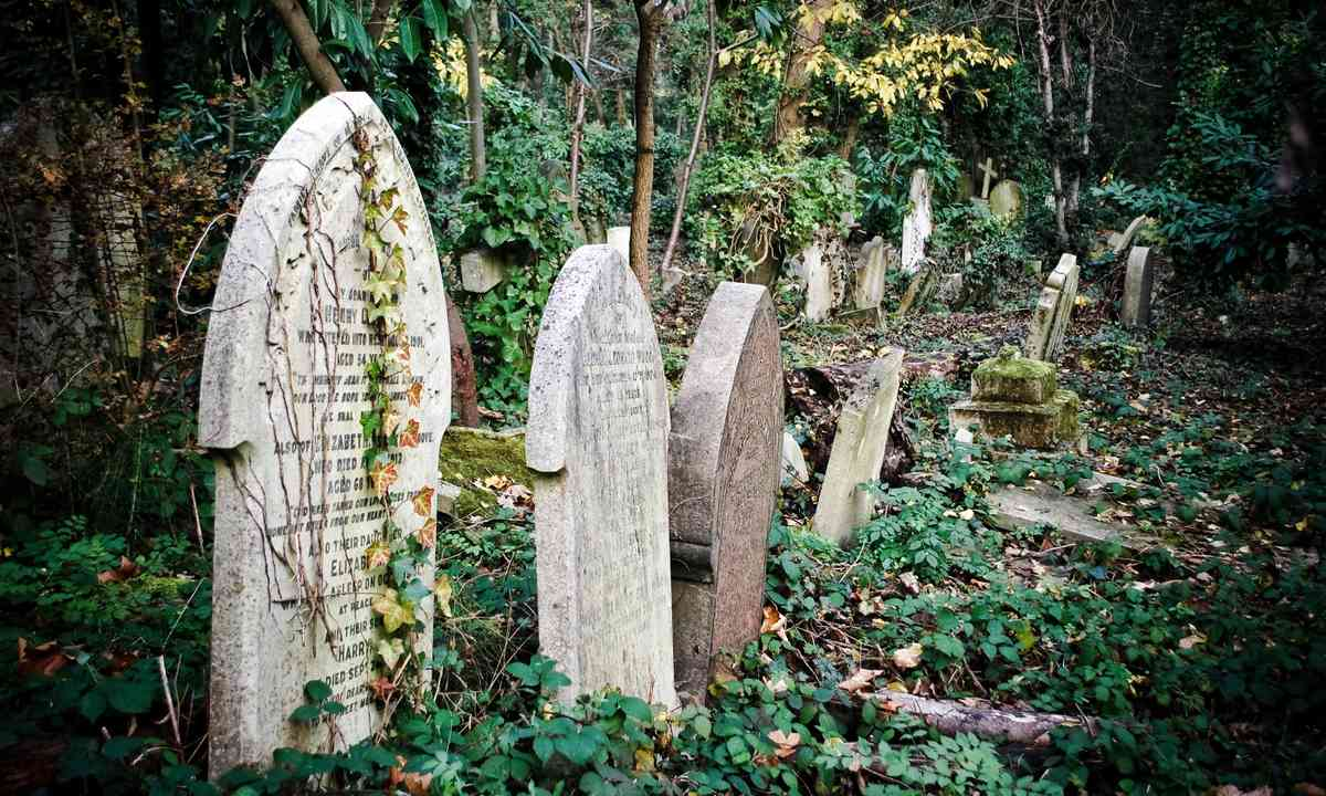 Highgate cemetery (Shutterstock.com)