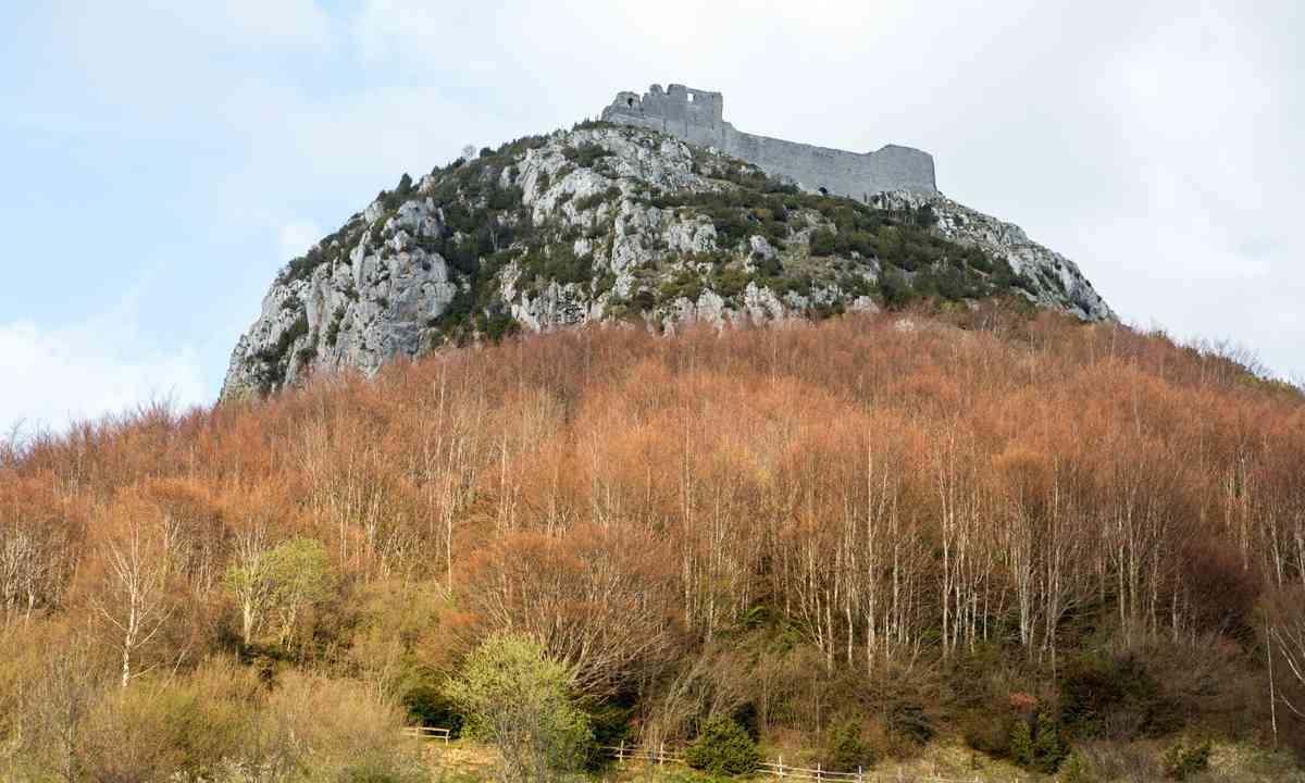 Montségur Chateau (Dreamstime)