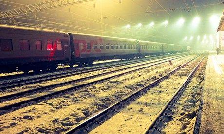 Trans Sib in the Mist (Matthew Woodward)