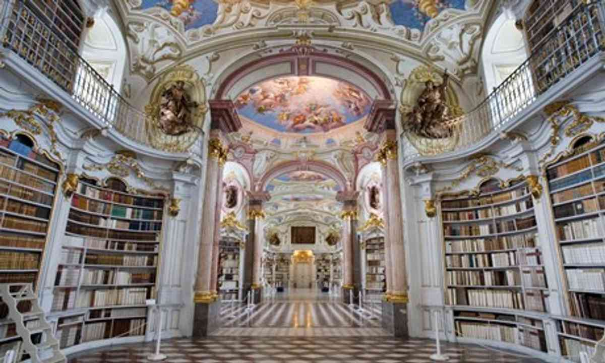 Adamant Abbey, Austria (Flickr Creative Commons: Jorge Royan)