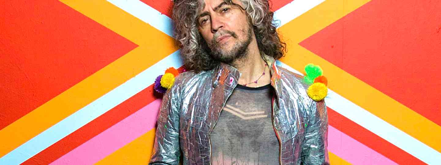 Wayne Coyne from the Flaming Lips