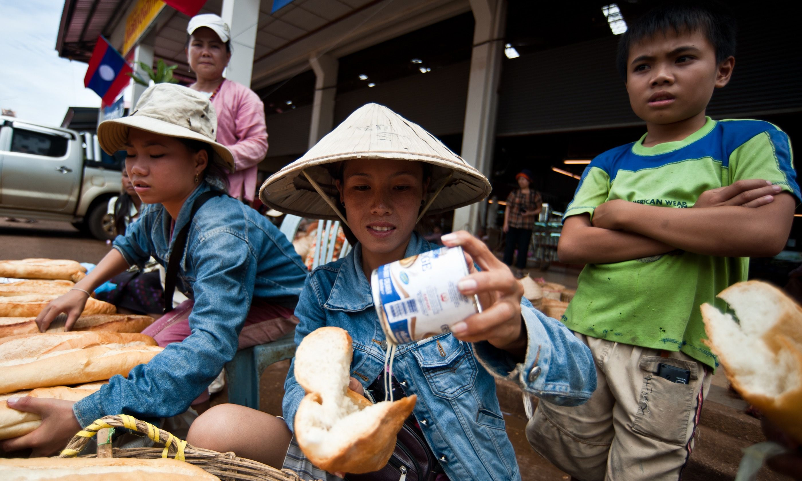 Local treat in Pakse (Shutterstock.com)