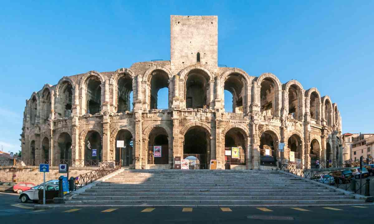 The Arles Amphitheatre (Shutterstock.com)