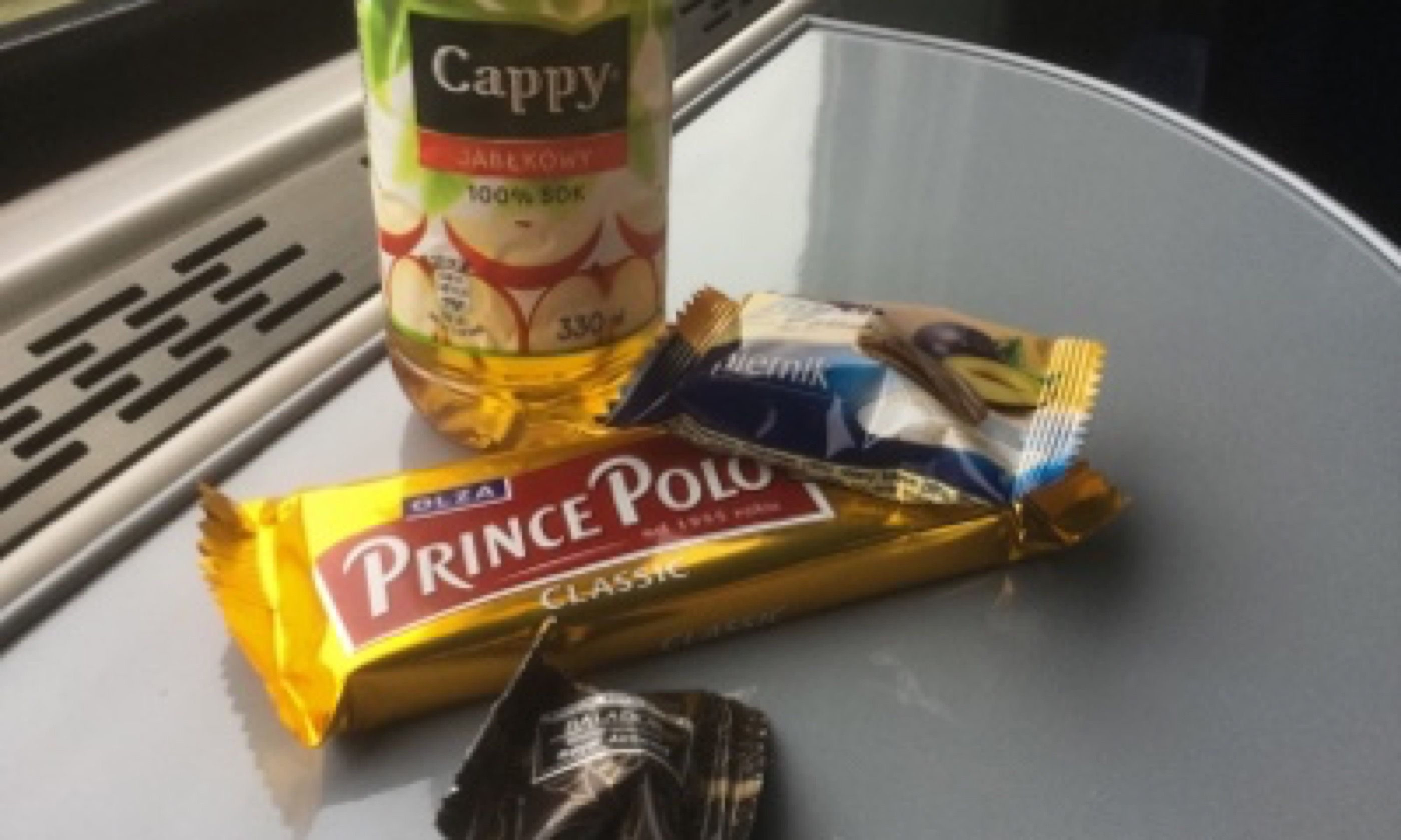 Train snacks (Matthew Woodward)