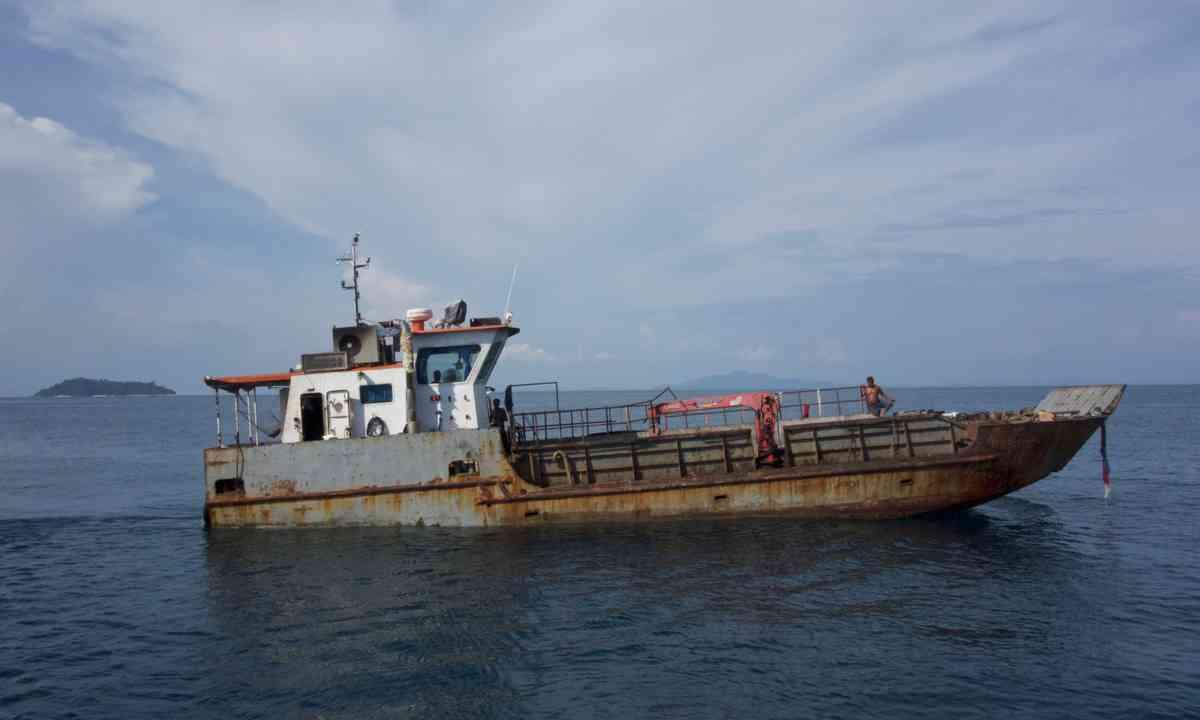 The boat that did it (Liz Cleere)