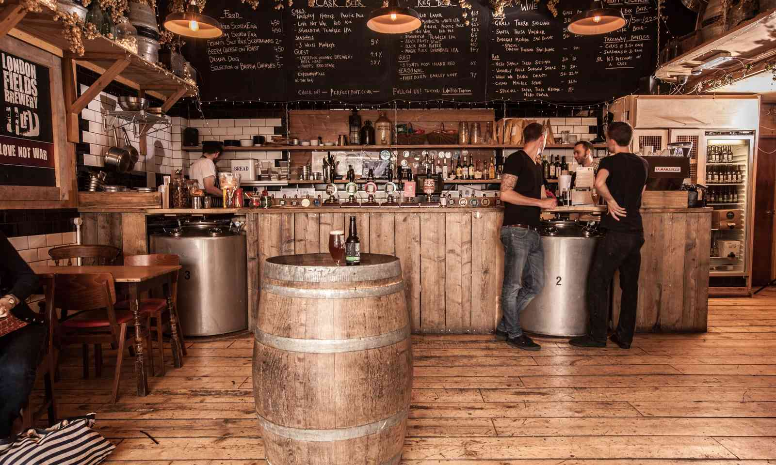 London Fields Tap Room (London Beer Week)