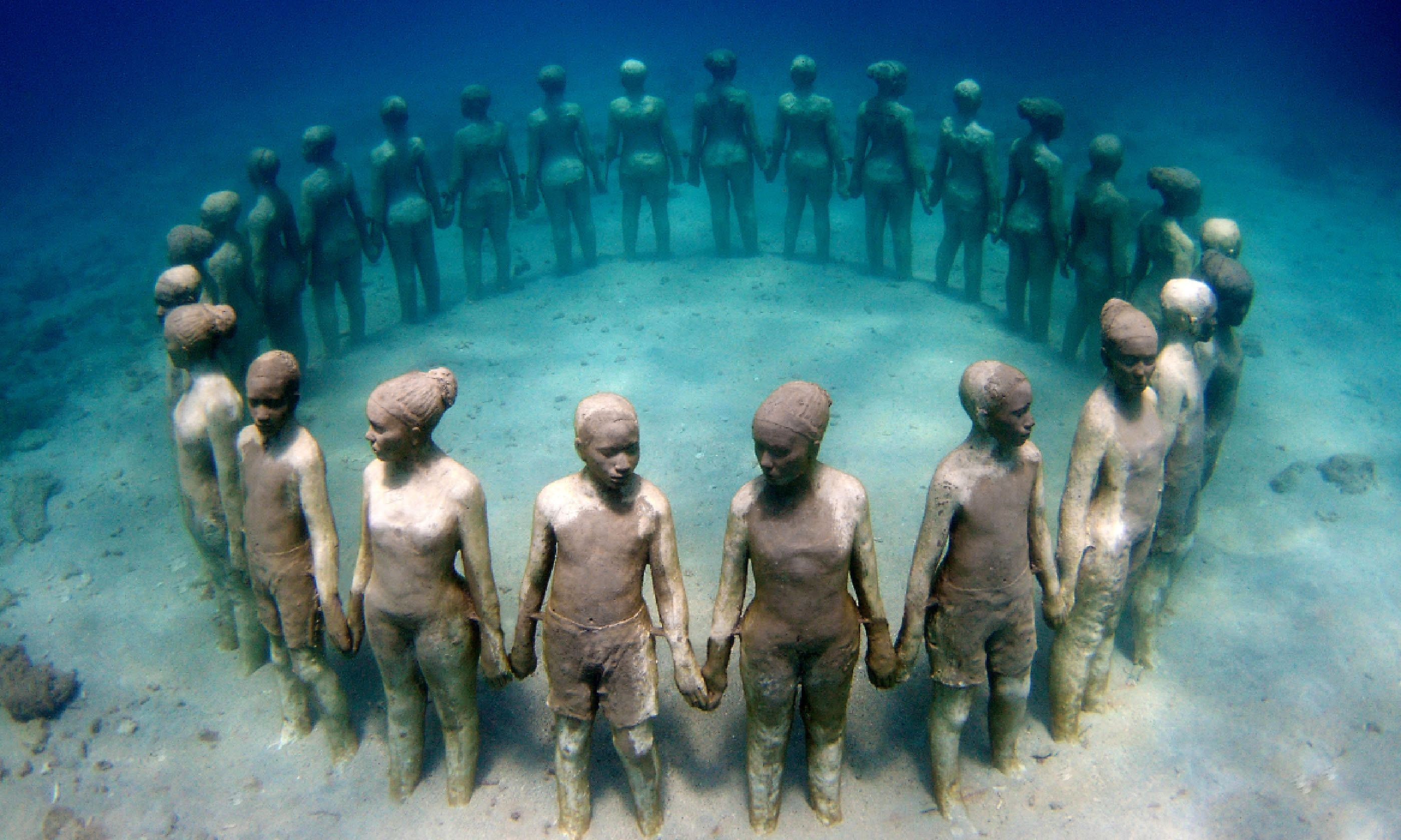Museo Subaquático de Arte (Caribbean Tourism Organisation / Jason de Caires Taylor)
