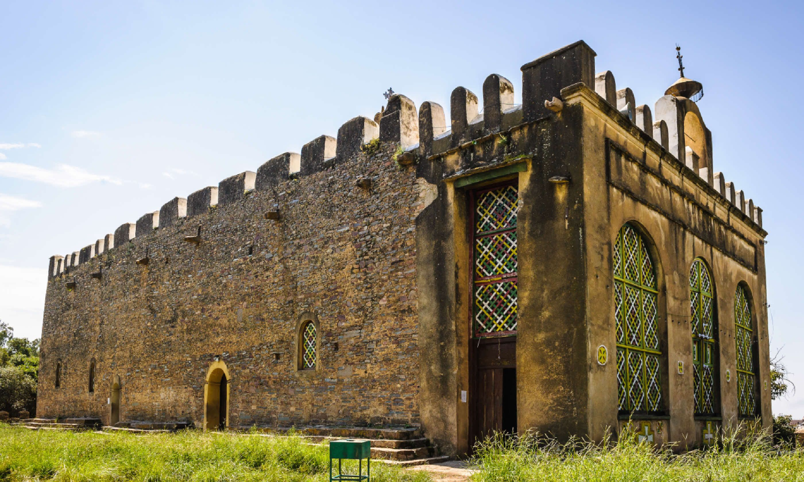 The Chapel of the Tablet, Axum, Ethiopia (Shutterstock)