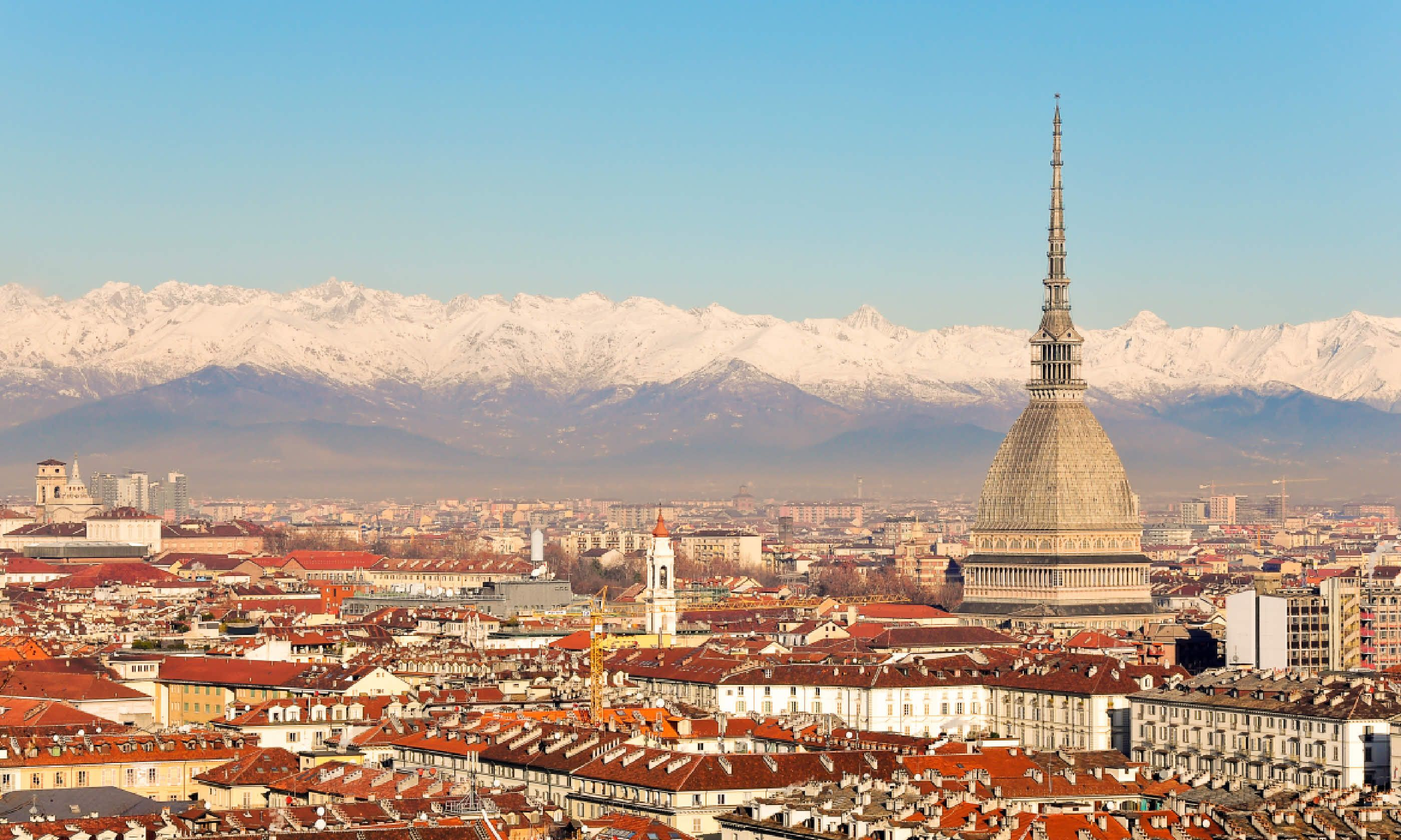 The National Museum of Cinema dominates Turin's skyline (Shutterstock)