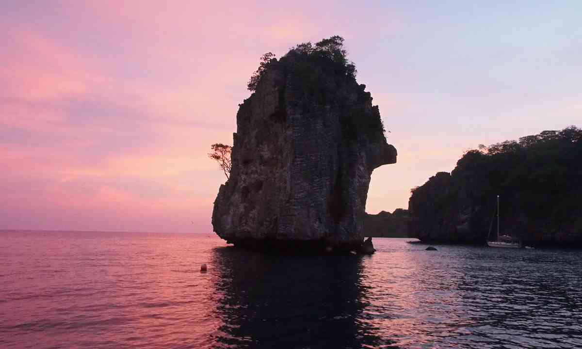 Sunset on Ko Ho (Liz Cleere)