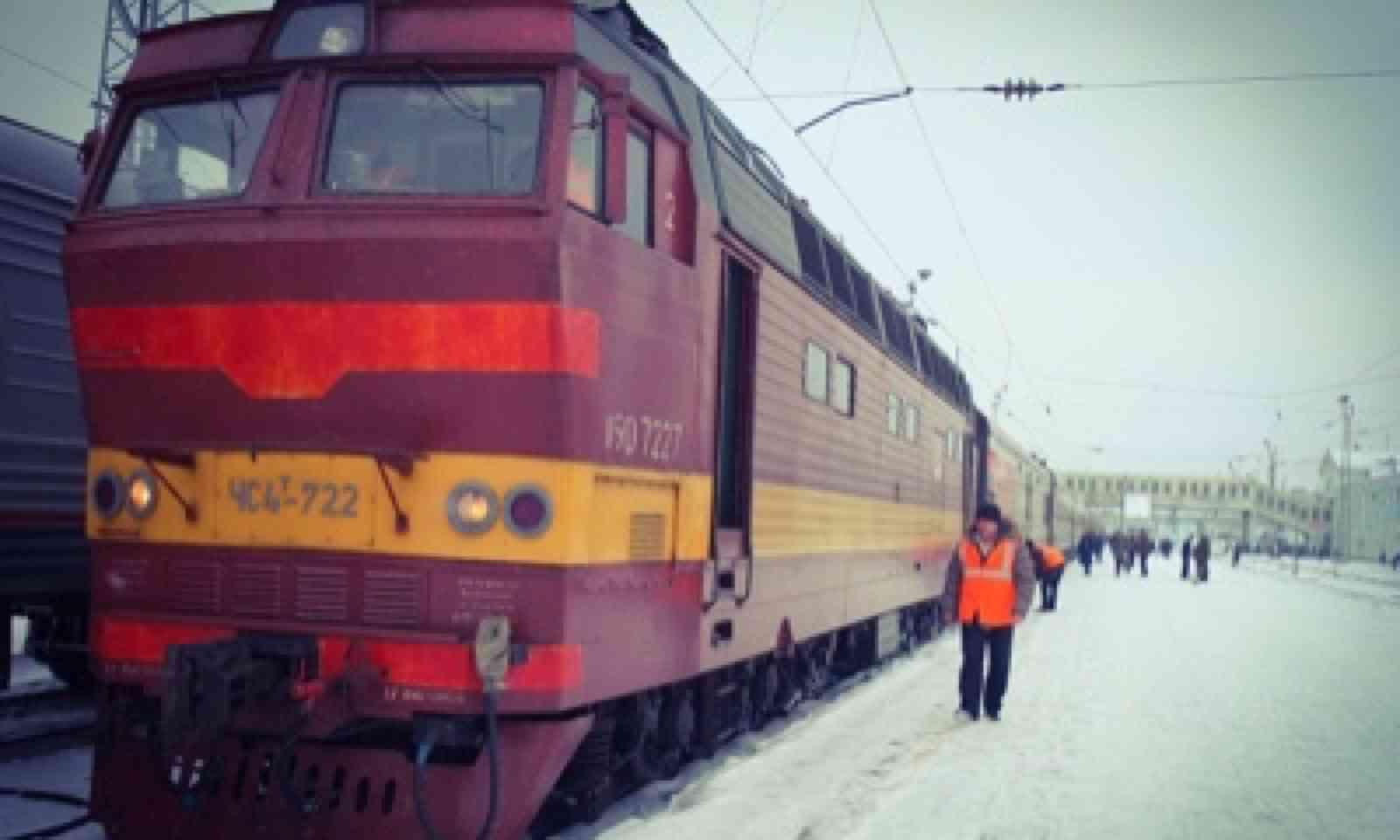 Russian locomotive (Matthew Woodward)