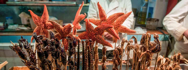 Food stall, Beijing (Shutterstock)