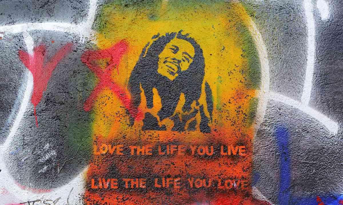 Bob Marley grafitti (Shutterstock.com)