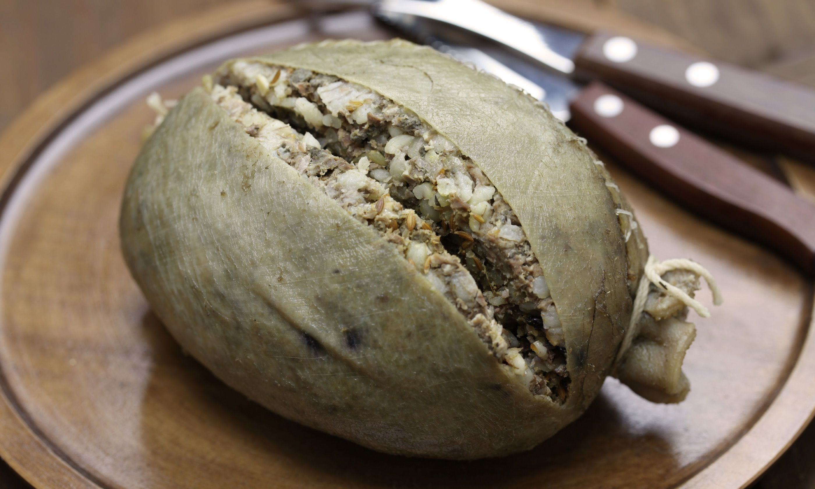 Homemade haggis (Shutterstock.com)