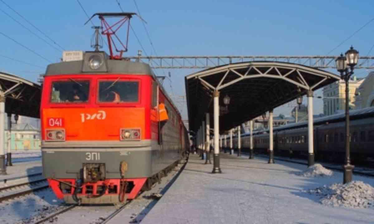 Train to Krasnoyarsk (Matthew Woodward)