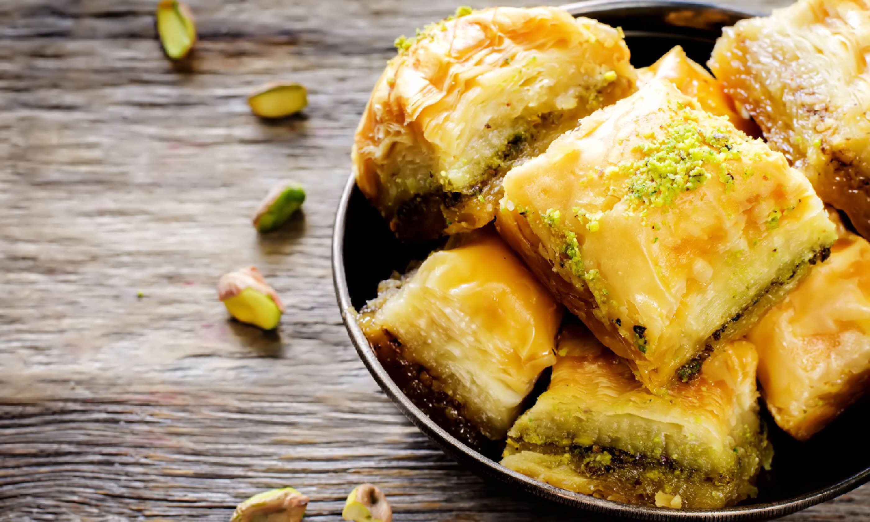 Baklava with pistachio (Shutterstock)