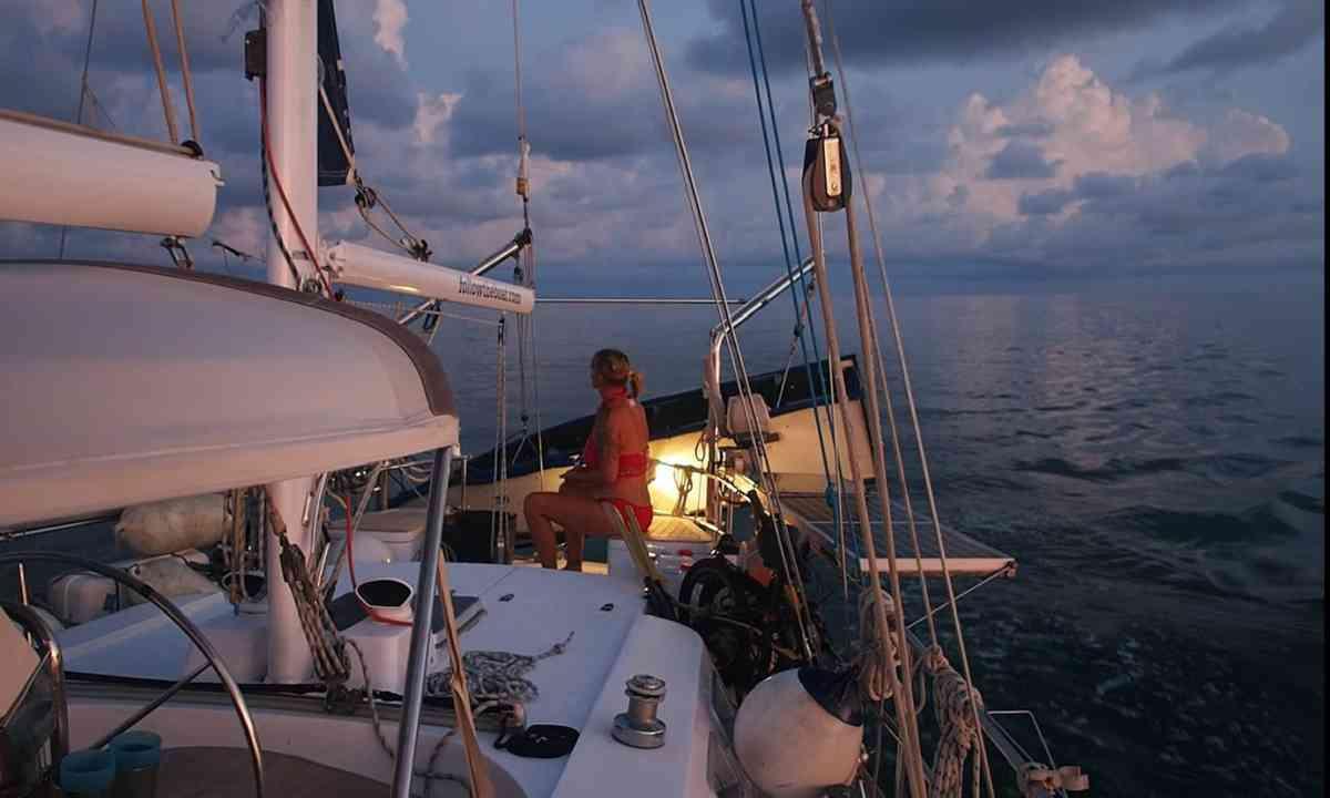 Night sailing (Liz Cleere)