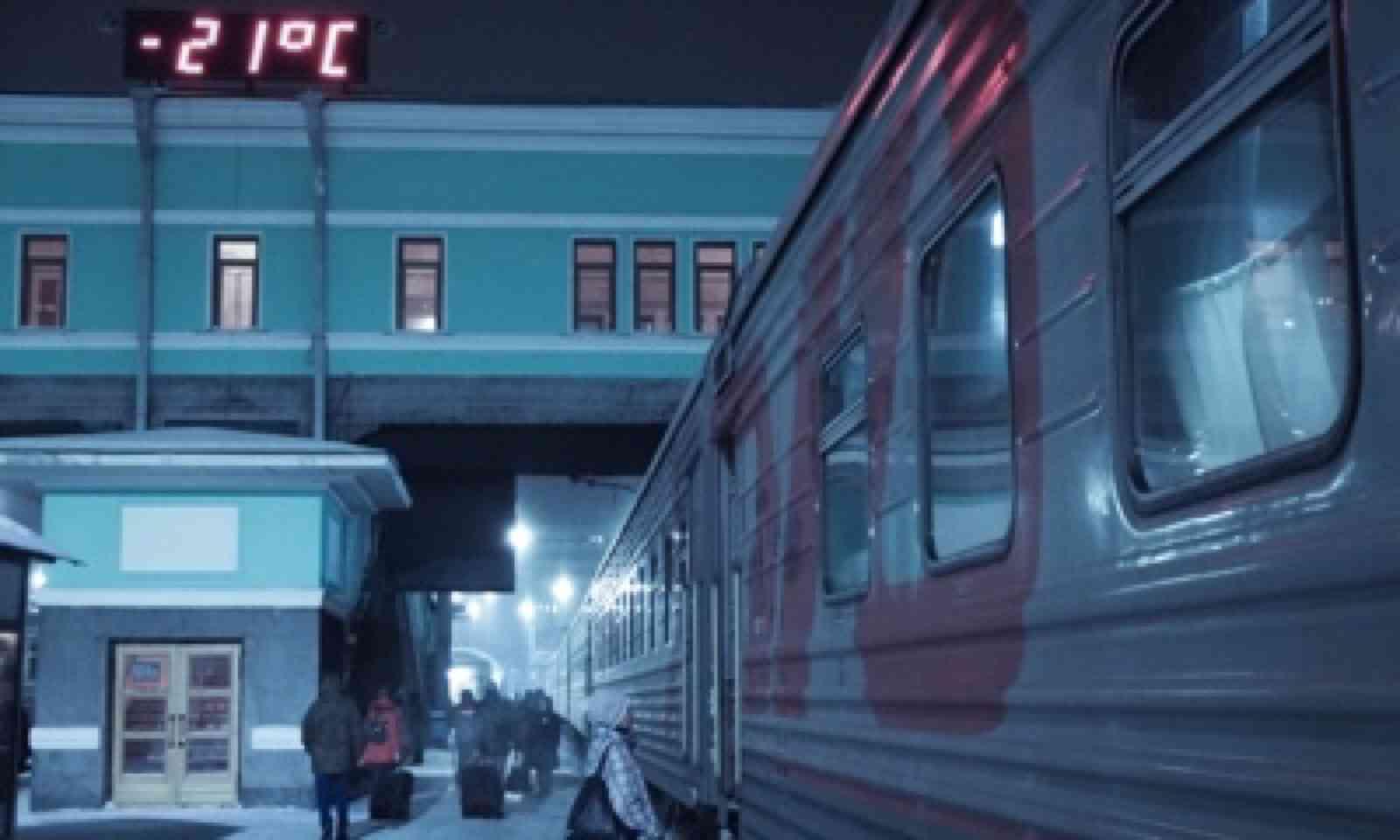 Ice cold in Novosibirsk (Matthew Woodward)