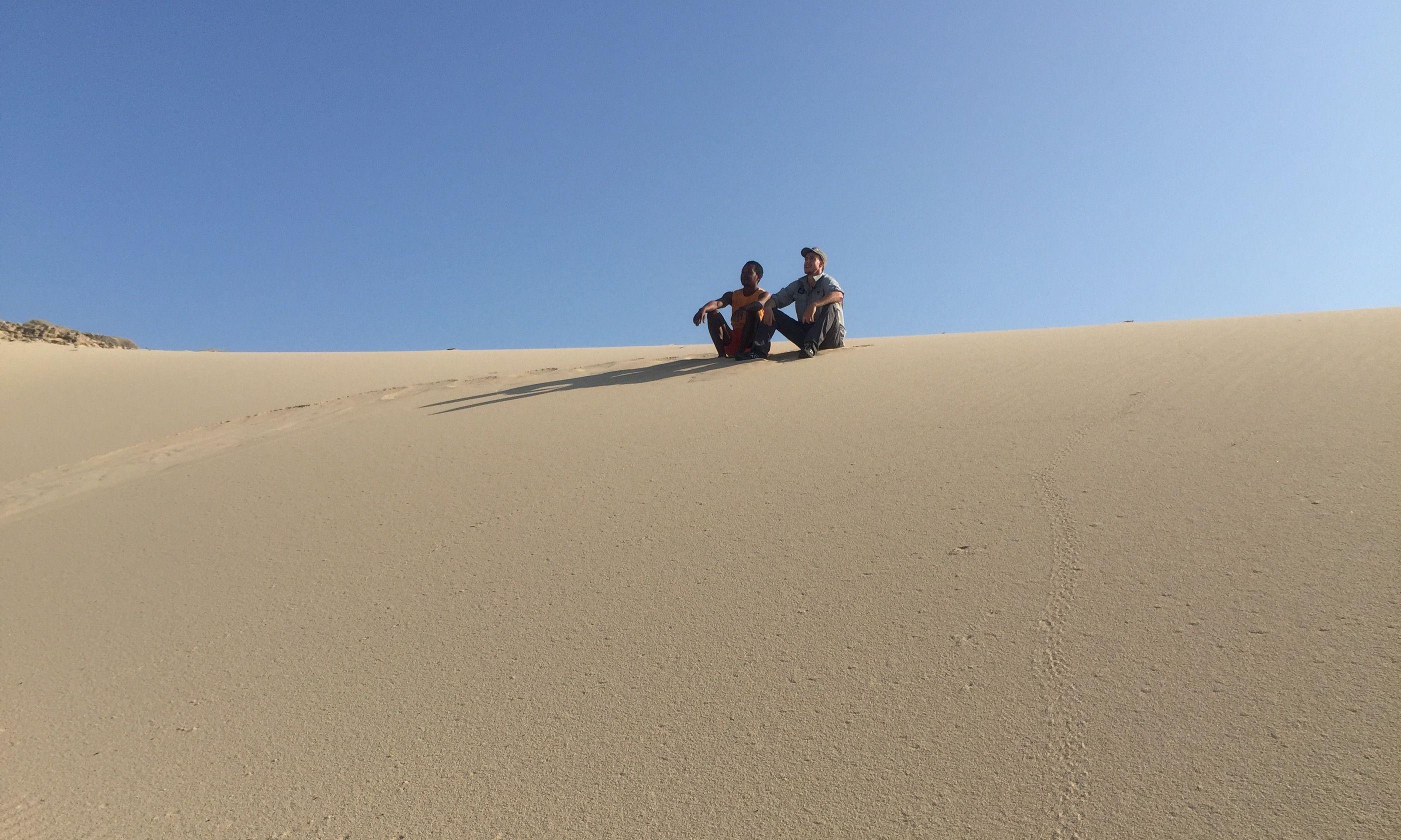 Sand dunes of Cap Sainte Marie (Suzanna Tierie)
