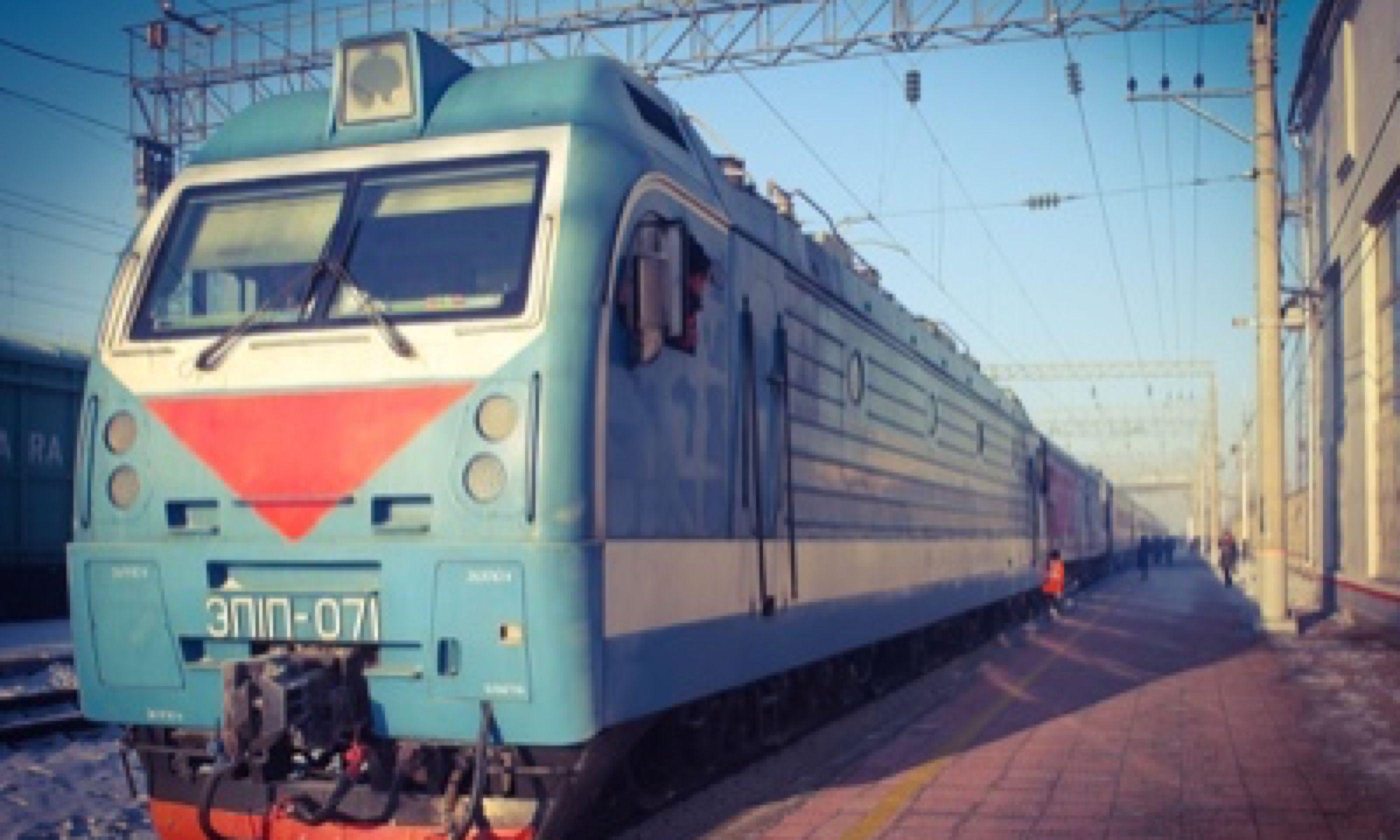 Train to Manchuria (Matthew Woodward)