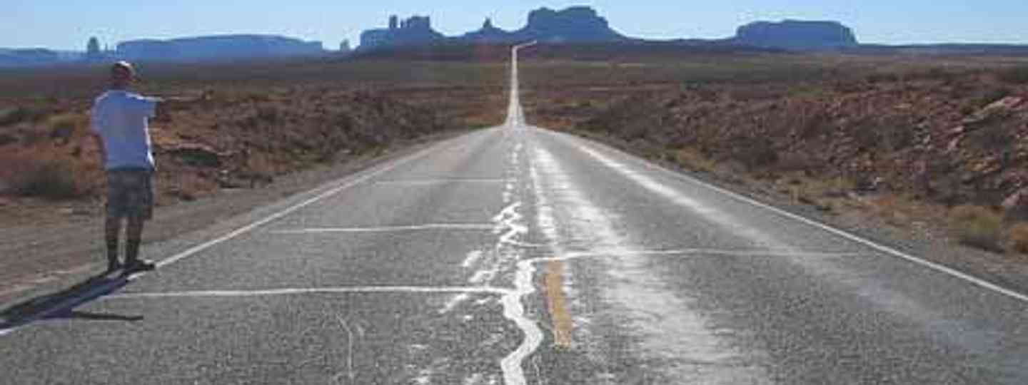 On the road to nowhere... (Vicki Watkins)