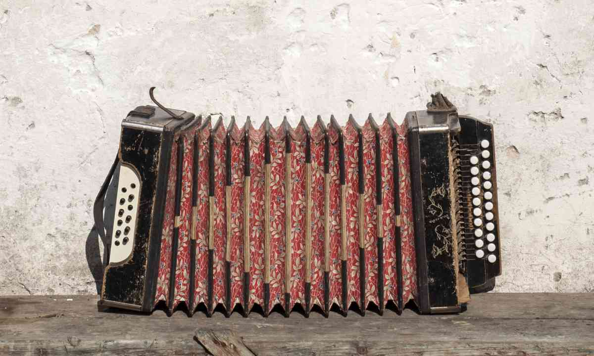 An accordion in Italy (Shutterstock.com)