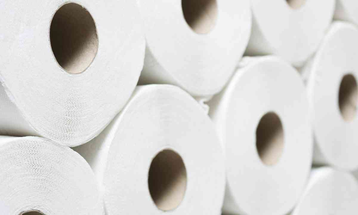 Rolls of splinter-free toilet paper (Shutterstock.com)