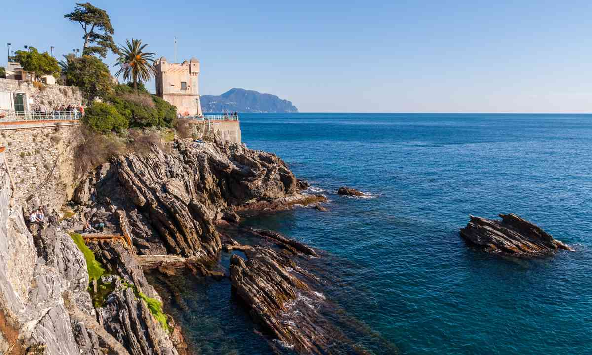 The seafront at Nervi (Shutterstock.com)