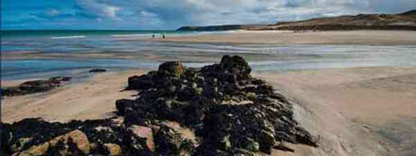 Scotland boasts breathtaking white beaches and clear blue waters
