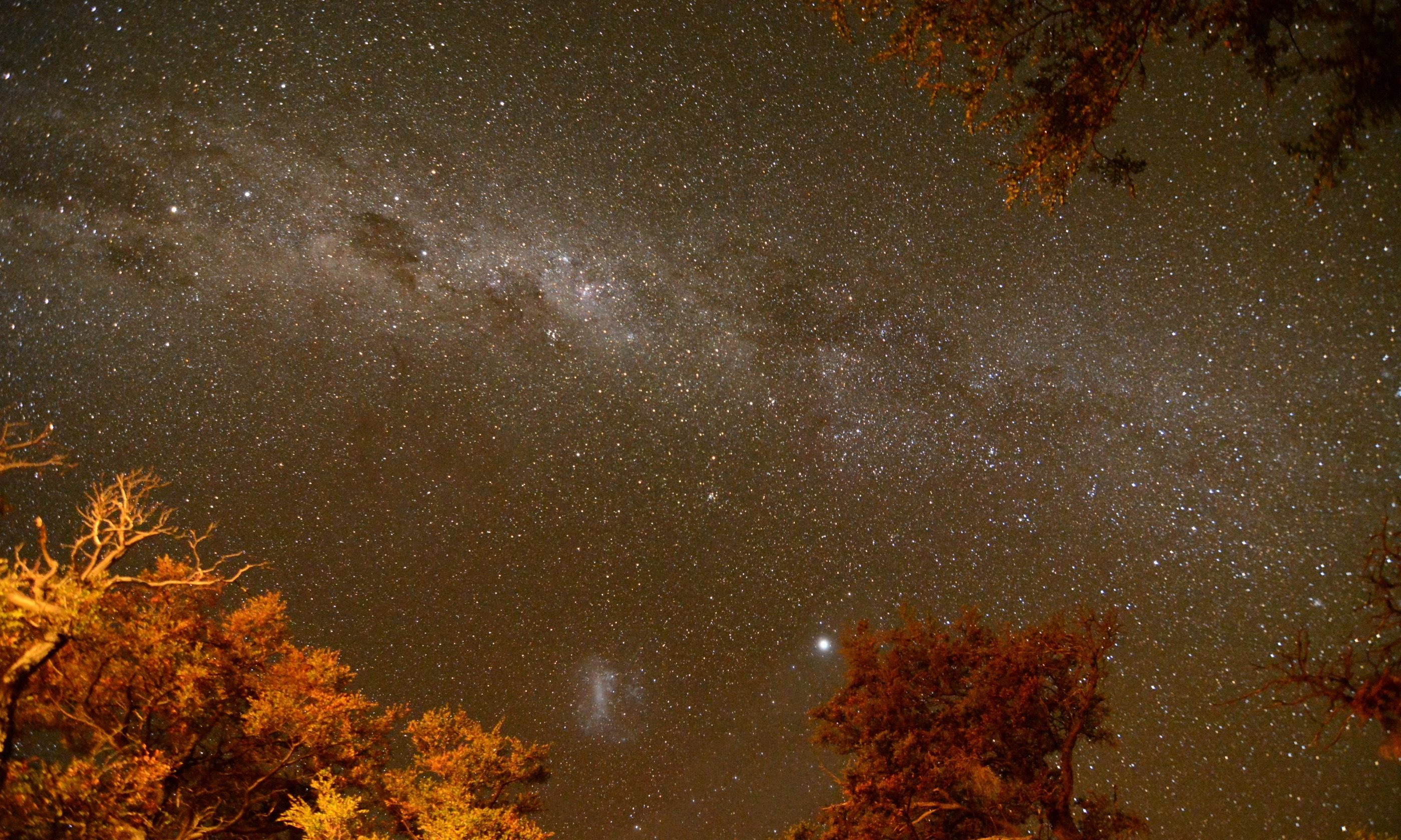 The night sky in Patagonia (Pura Aventura)