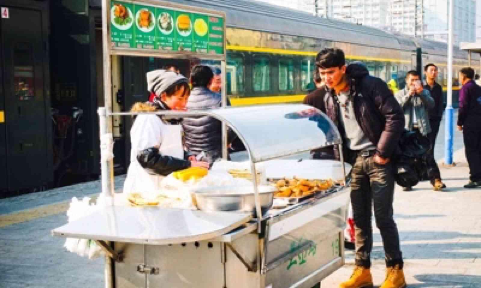 Food for sale in Zhongwei (Matthew Woodward)