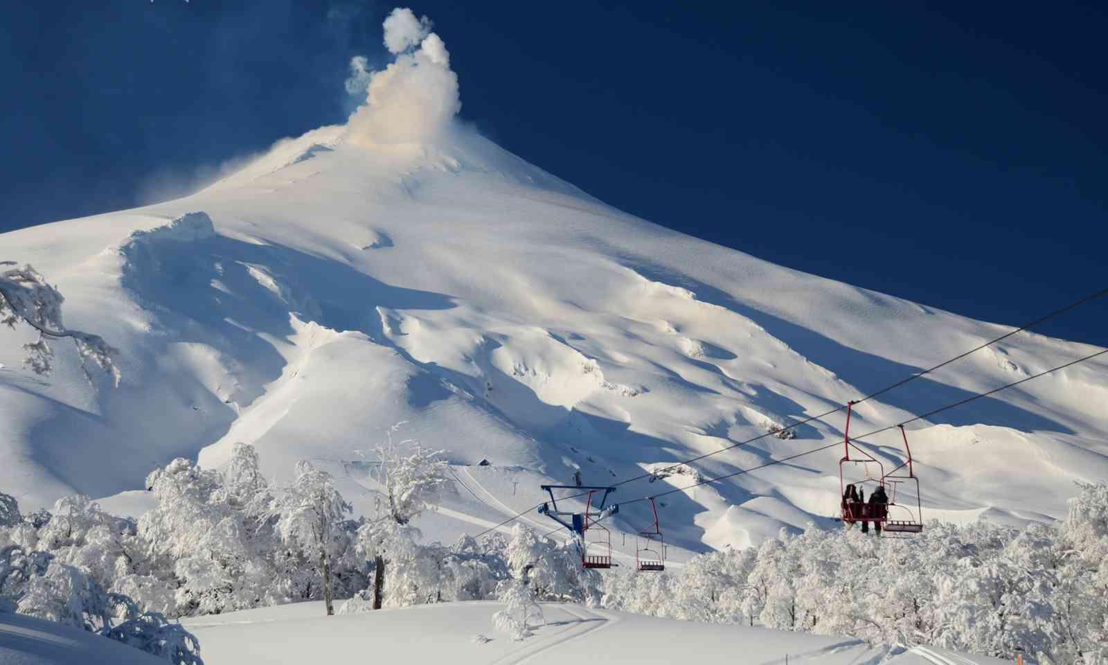 Heading up the volcano (Latin America Travel Association)