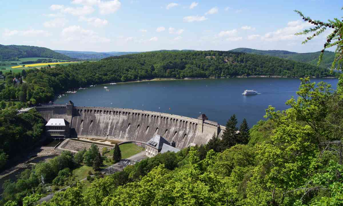 Kellerwald Adersee Dam (German National Tourist Board)