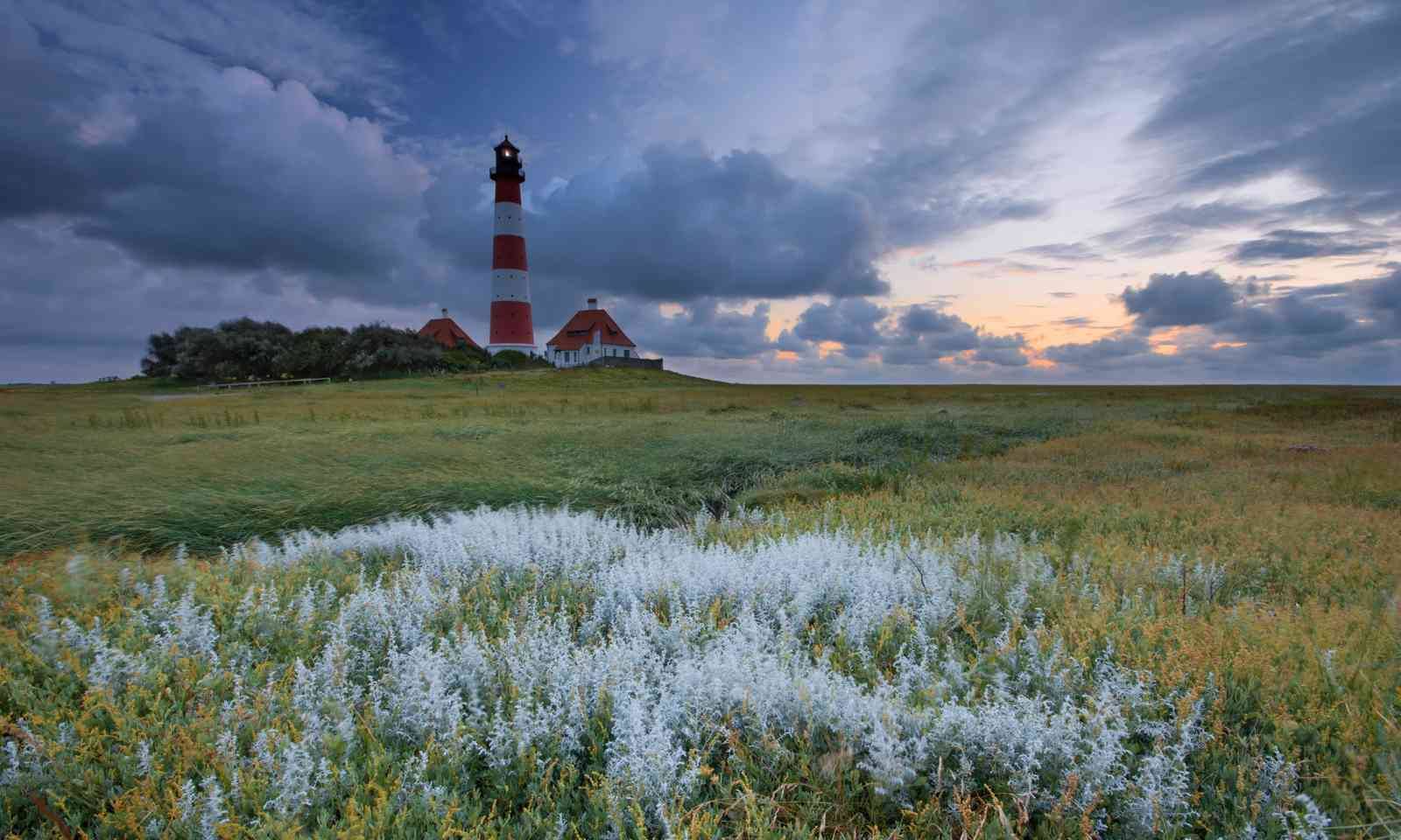 Salt marsh lighthouse (German National Tourist Board)