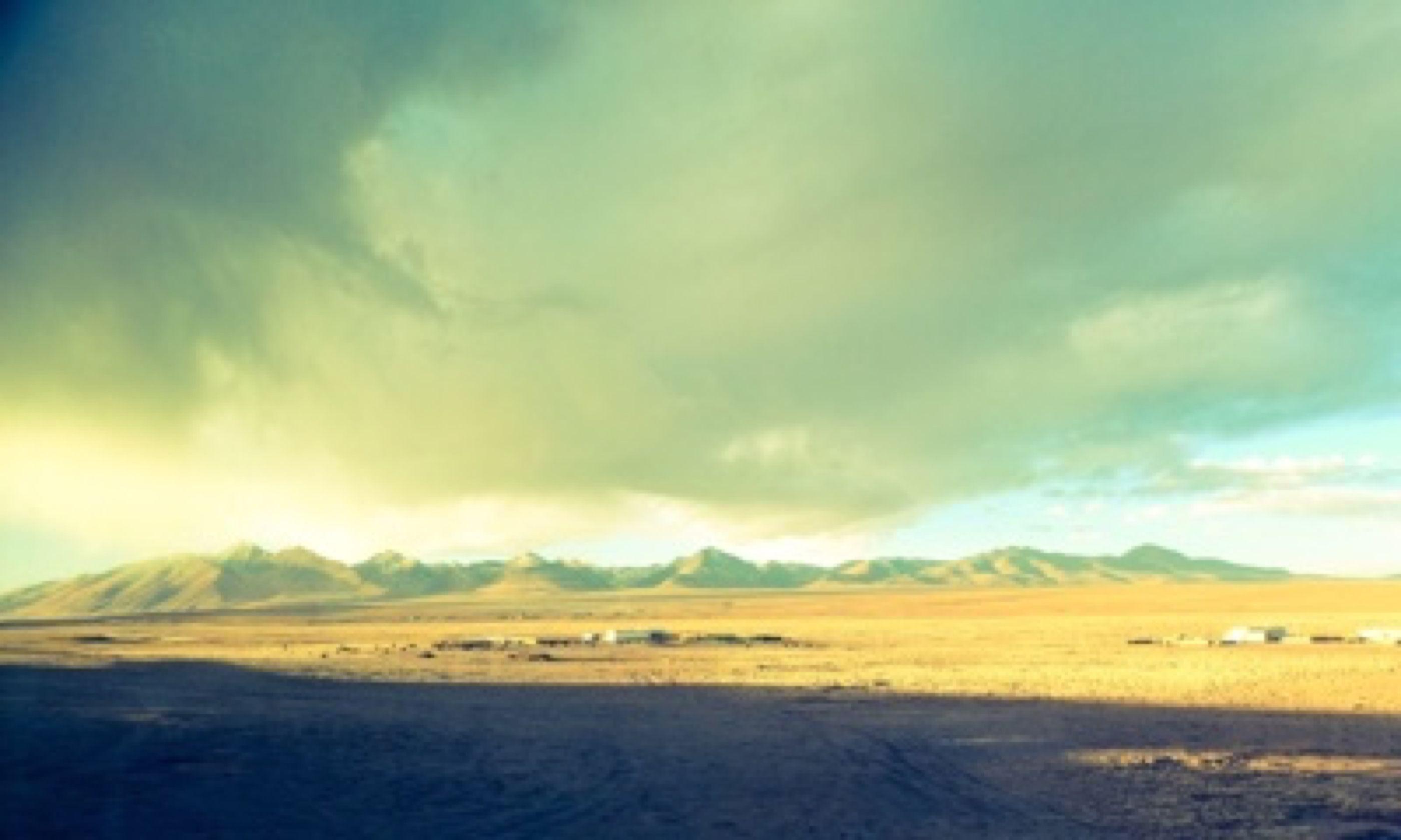Tibetan plateau (Matthew Woodward)