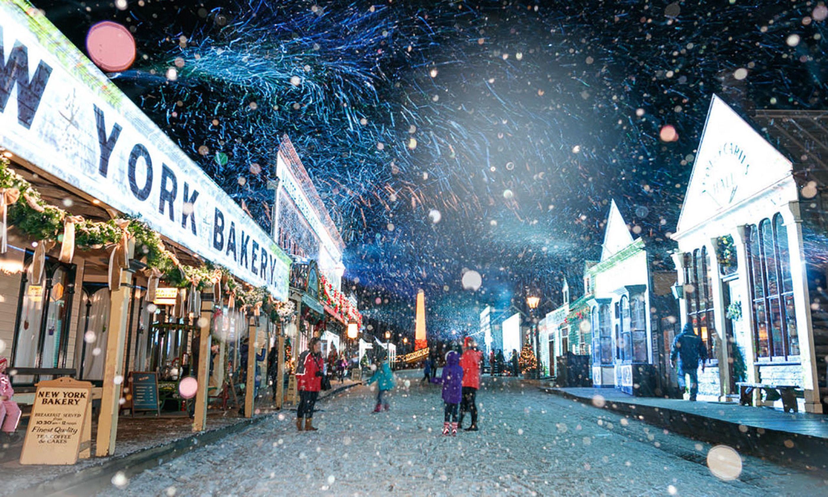 christmas on main street sovereign hill - Christmas In July Australia