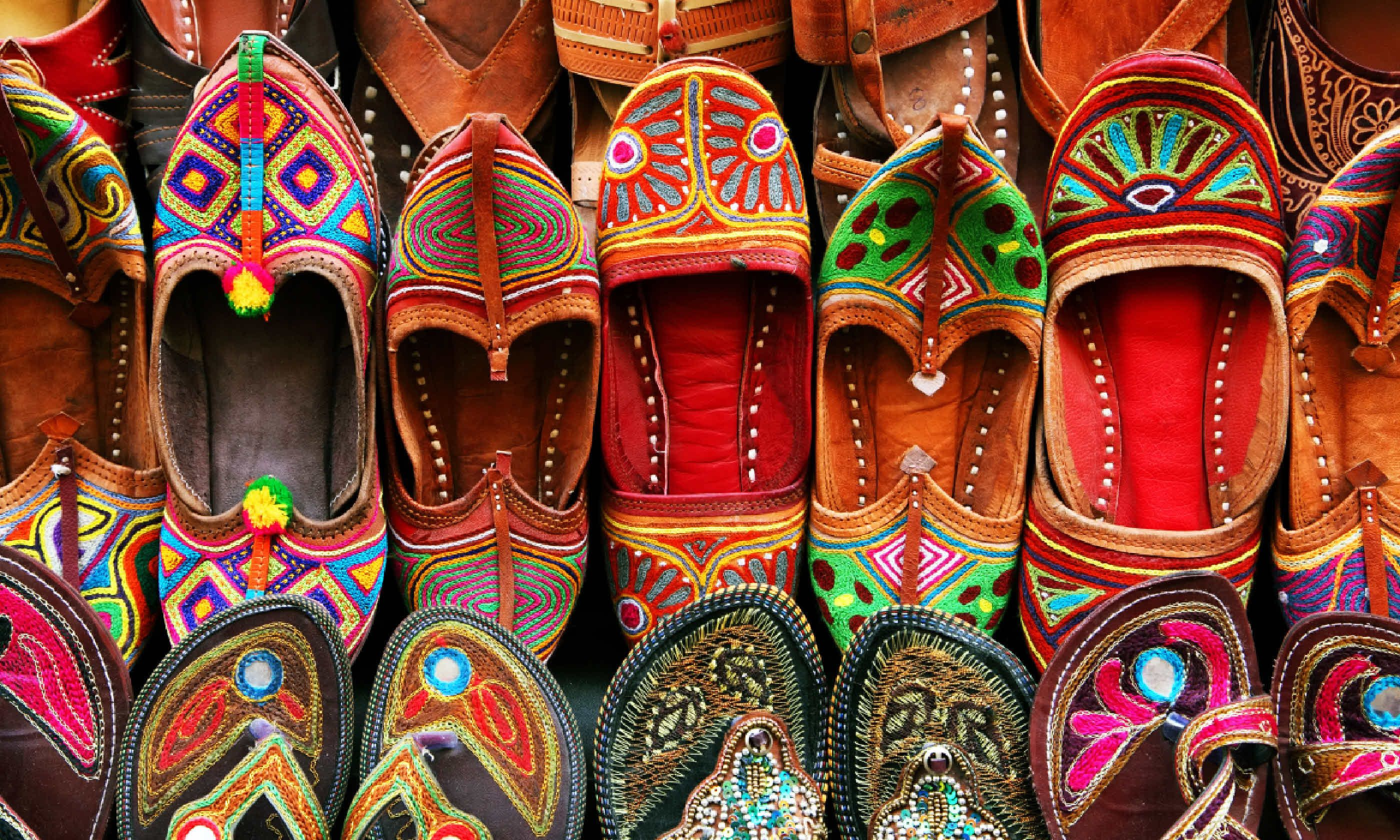 Traditional slippers (Shutterstock)