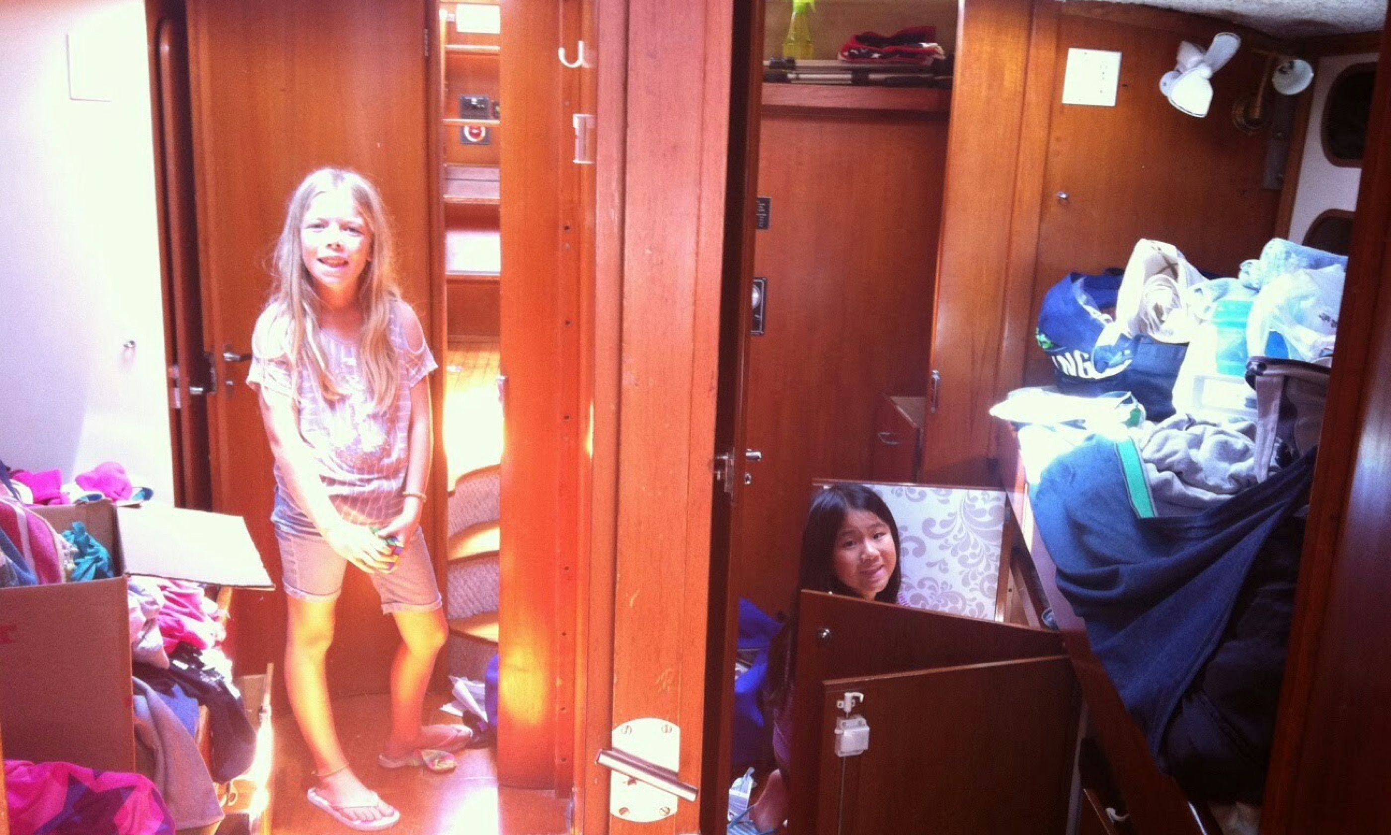 Separate cabins (Aimee Nance)