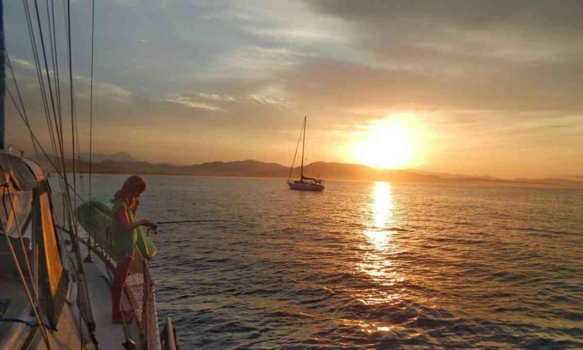 Fishing at sunrise (Aimee Nance)