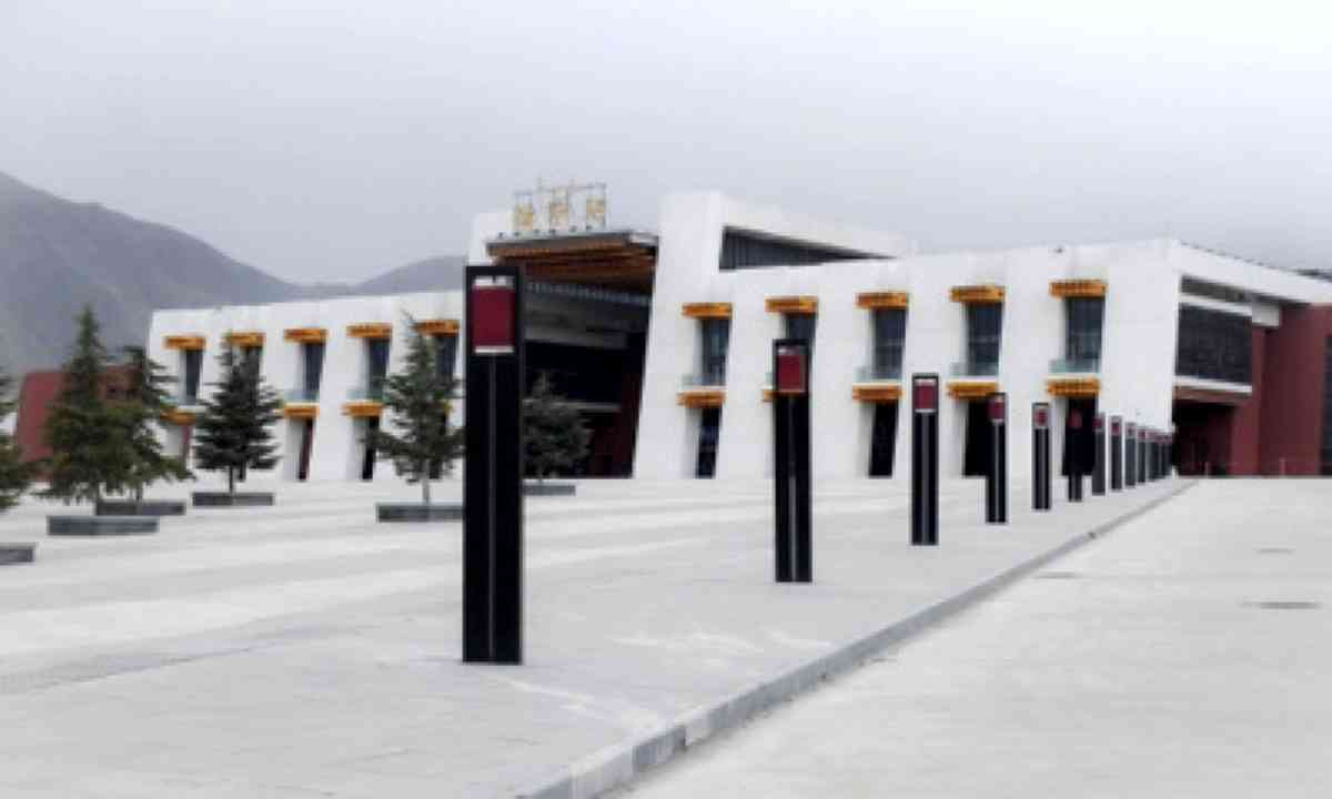 Lhasa station (Matthew Woodward)