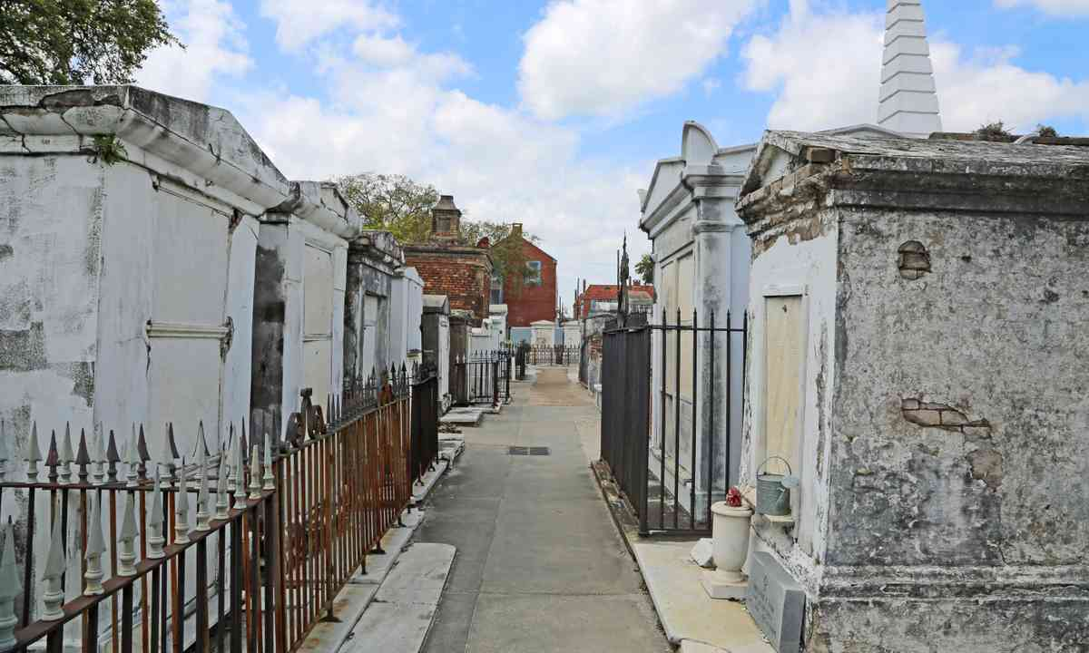 St Louis Cemetery (Dreamstime)