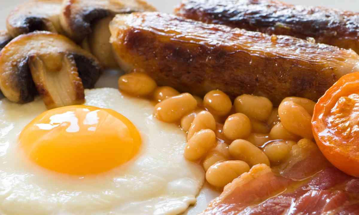 Full English breakfast (Dreamstime)