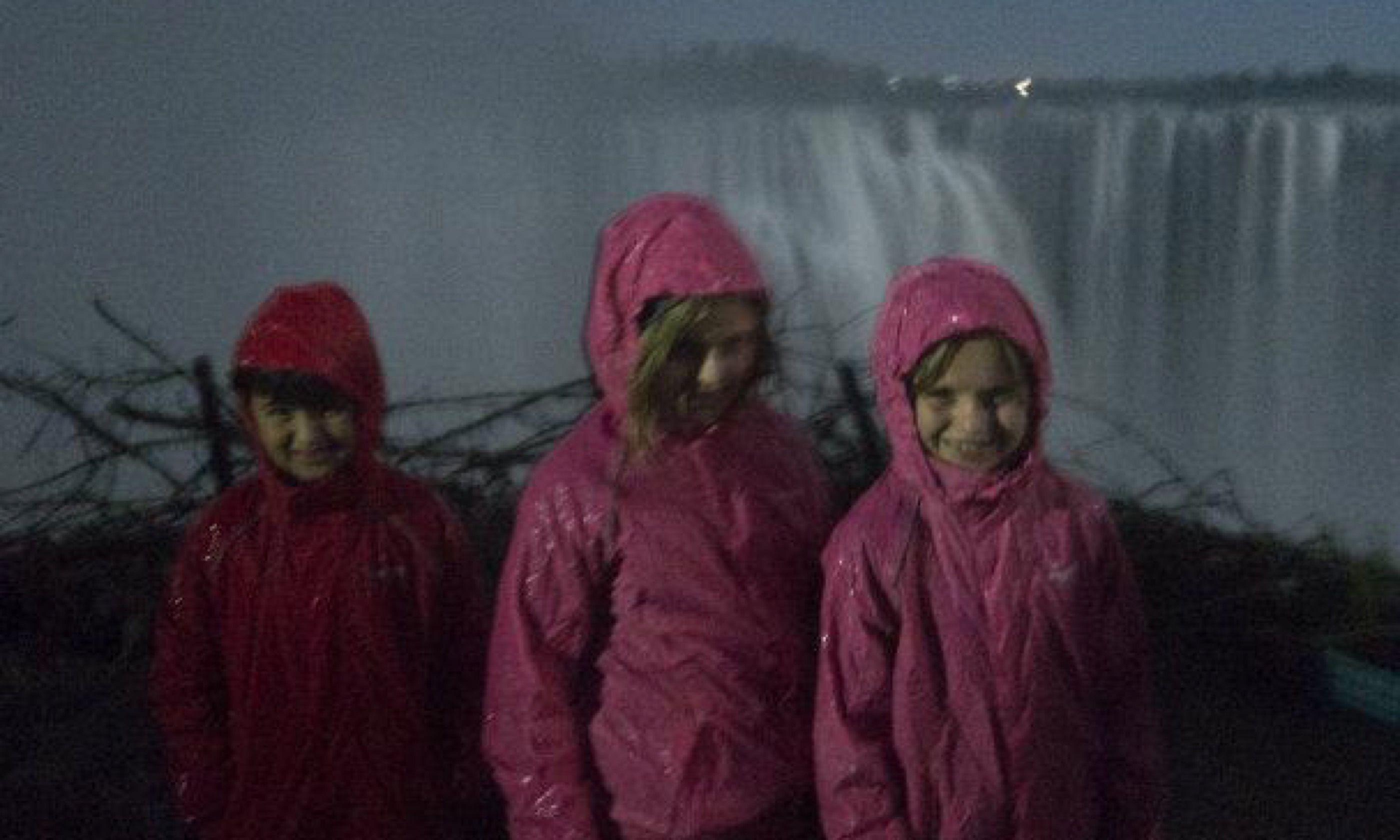 Vic Falls at night (Edwina Cagol)