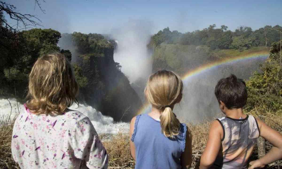 Vic Falls by day (Edwina Cagol)