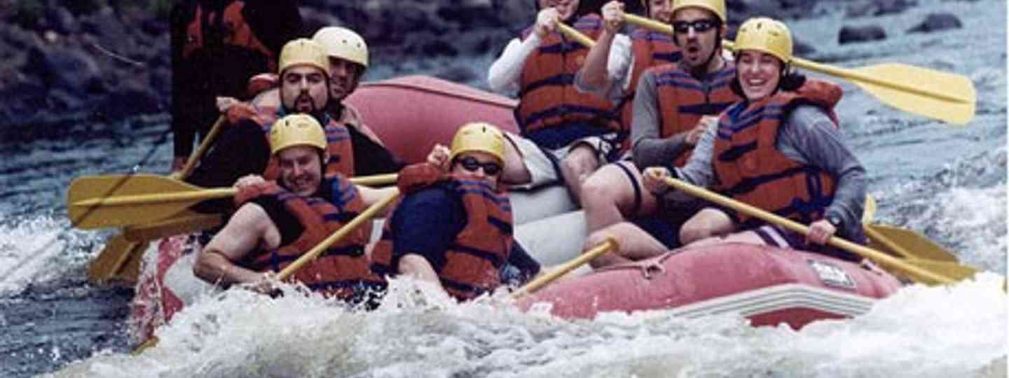 Take the plunge on a rafting adventure (Ken Curtis)