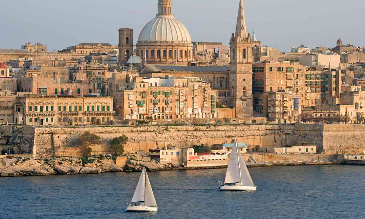 Yachts sailing in the Grand Harbour, Malta (Dreamstime)