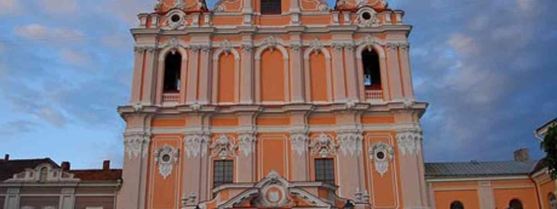 Get lost in Vilnius's Old Town (F Mira)
