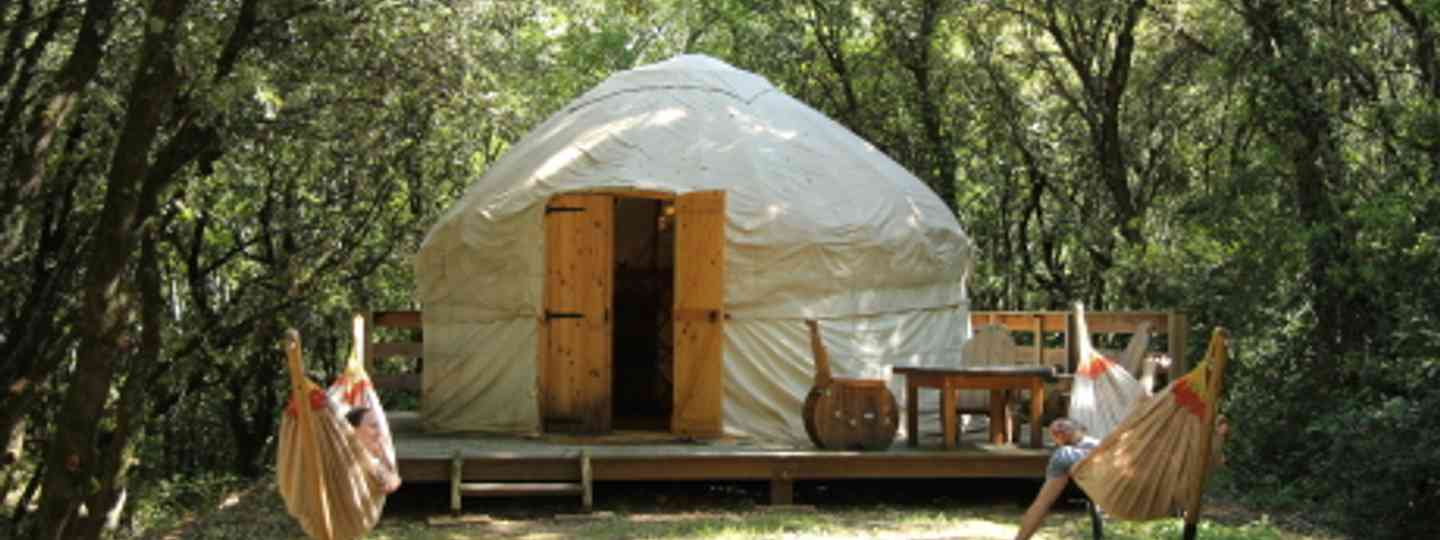 You can't get cooler camping than this (Cool Camping)