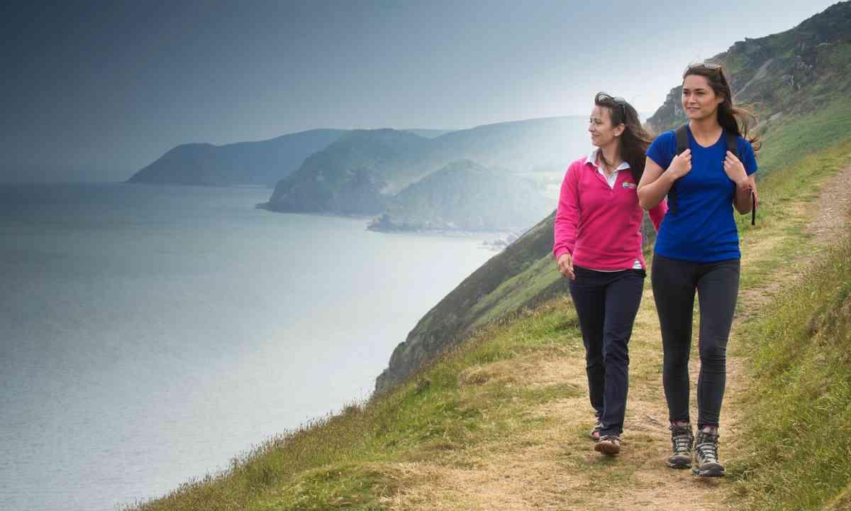 Walking the South West Coast path (Steve Haywood)