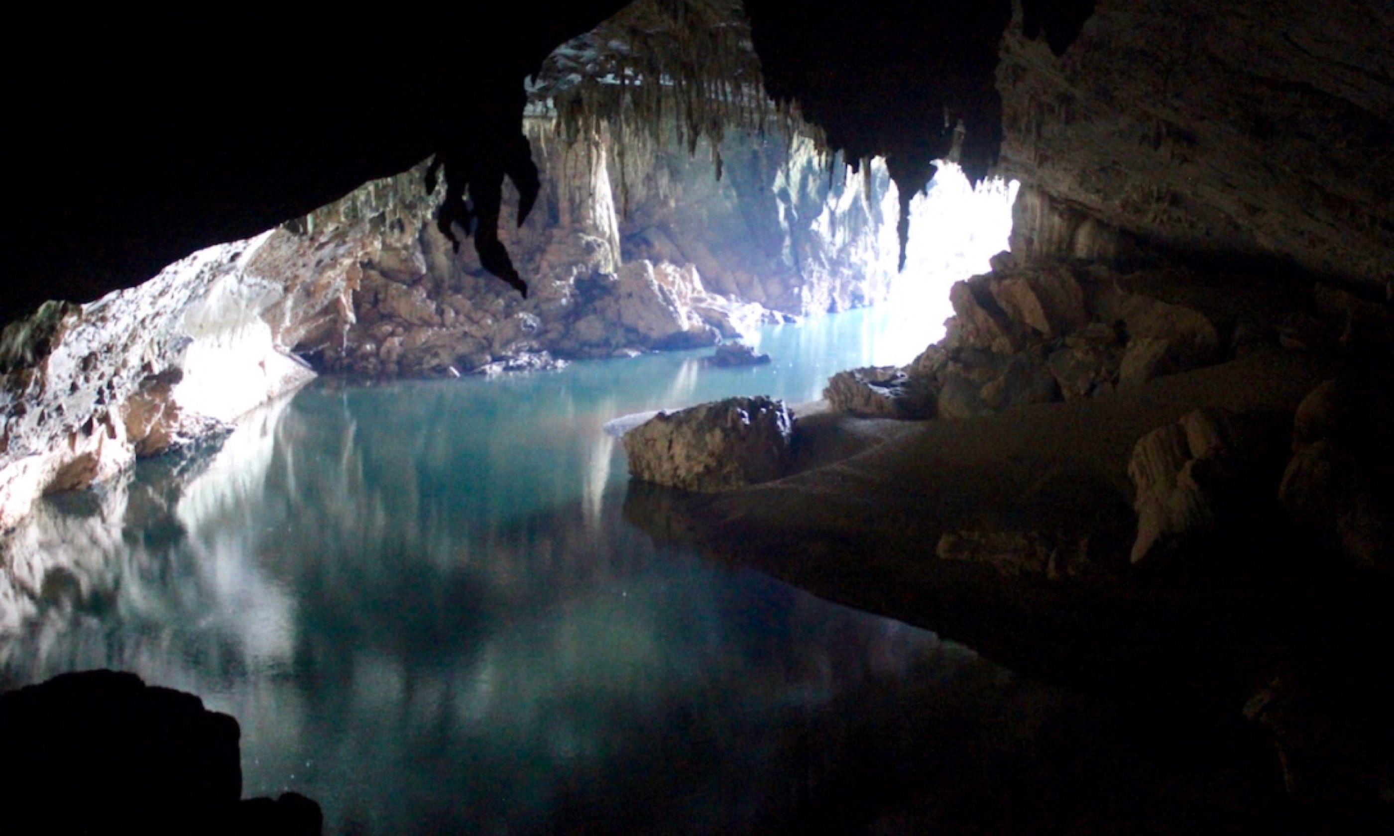 The entrance to the Xe Bang Far River caves (Mark Steadman)